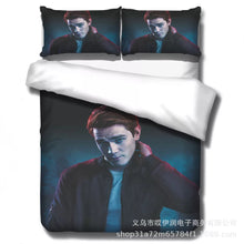 Load image into Gallery viewer, Riverdale South Side Serpents #9 Duvet Cover Quilt Cover Pillowcase Bedding Set Bed Linen