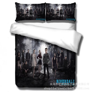 Riverdale  #10 Duvet Cover Quilt Cover Pillowcase Bedding Set Bed Linen