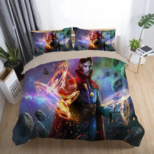 Load image into Gallery viewer, Doctor Strange Marvel Superhero #4 Duvet Cover Quilt Cover Pillowcase Bedding Set Bed Linen Home Decor