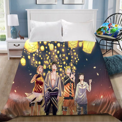 Naruto Uzumaki Naruto #28 Duvet Cover Quilt Cover Pillowcase Bedding Set Bed Linen Home Decor