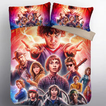 Load image into Gallery viewer, Stranger Things Eleven #19 Duvet Cover Quilt Cover Pillowcase Bedding Set Bed Linen Home Decor
