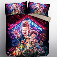 Load image into Gallery viewer, Stranger Things Eleven #20 Duvet Cover Quilt Cover Pillowcase Bedding Set Bed Linen Home Decor