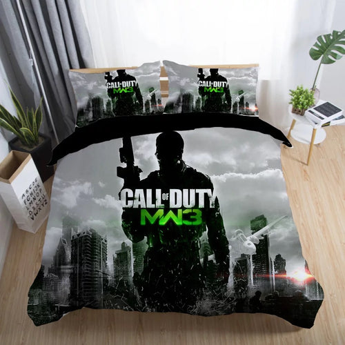 Call of Duty #27 Duvet Cover Quilt Cover Pillowcase Bedding Set Bed Linen Home Decor
