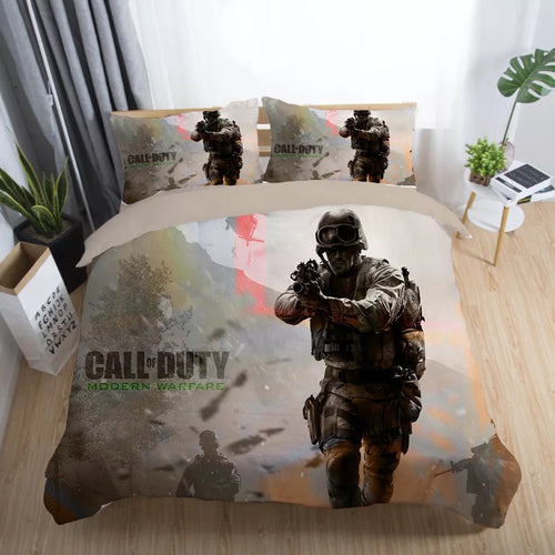 Call of Duty #28 Duvet Cover Quilt Cover Pillowcase Bedding Set Bed Linen Home Decor