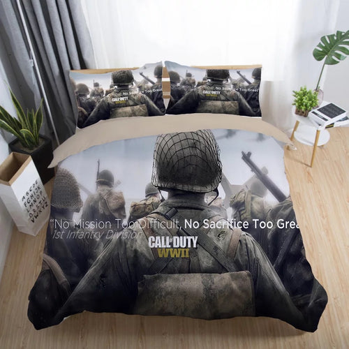 Call of Duty #30 Duvet Cover Quilt Cover Pillowcase Bedding Set Bed Linen Home Decor