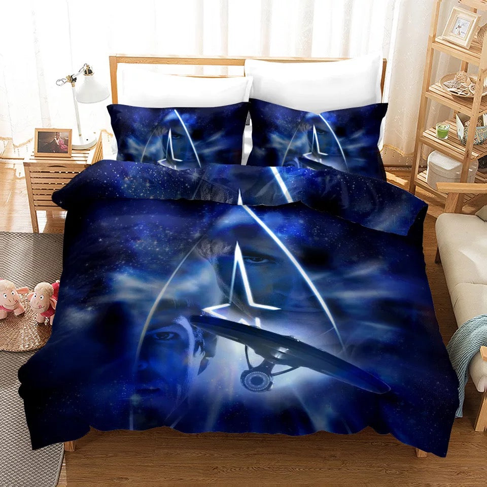 Star Trek Enterprise #7 Duvet Cover Quilt Cover Pillowcase Bedding Set Bed Linen Home Decor