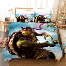 Load image into Gallery viewer, Mirage Studios Raph Mikey Don #1 Duvet Cover Quilt Cover Pillowcase Bedding Set Bed Linen Home Decor