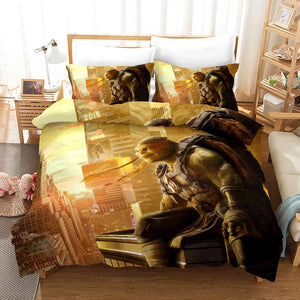 Mirage Studios Raph Mikey Don #5 Duvet Cover Quilt Cover Pillowcase Bedding Set Bed Linen Home Decor