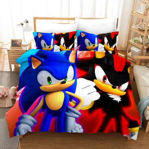 Sonic Lost World #1 Duvet Cover Quilt Cover Pillowcase Bedding Set Bed Linen Home Decor