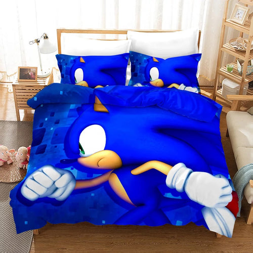 Sonic Lost World #5 Duvet Cover Quilt Cover Pillowcase Bedding Set Bed Linen Home Decor