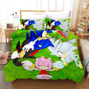 Sonic Lost World #7 Duvet Cover Quilt Cover Pillowcase Bedding Set Bed Linen Home Decor
