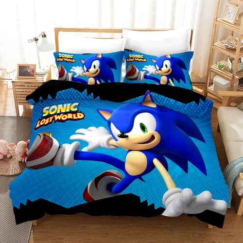 Sonic Lost World #13 Duvet Cover Quilt Cover Pillowcase Bedding Set Bed Linen Home Decor