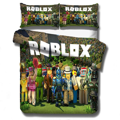 Roblox Team #11 Duvet Cover Quilt Cover Pillowcase Bedding Set Bed Linen Home Decor