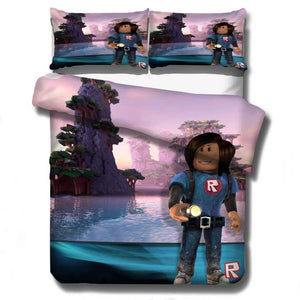 Roblox Team #15 Duvet Cover Quilt Cover Pillowcase Bedding Set Bed Linen Home Decor