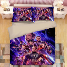 Load image into Gallery viewer, Avengers Endgame #1 Duvet Cover Quilt Cover Pillowcase Bedding Set Bed Linen Home Decor