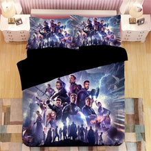 Load image into Gallery viewer, Avengers Endgame #2 Duvet Cover Quilt Cover Pillowcase Bedding Set Bed Linen Home Decor