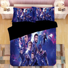 Load image into Gallery viewer, Avengers Endgame #5 Duvet Cover Quilt Cover Pillowcase Bedding Set Bed Linen Home Decor