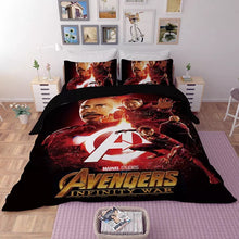 Load image into Gallery viewer, Avengers Infinity War #10 Duvet Cover Quilt Cover Pillowcase Bedding Set Bed Linen Home Decor