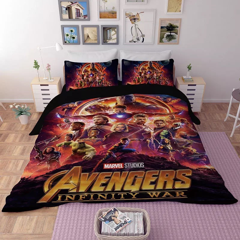 Avengers Infinity War #11 Duvet Cover Quilt Cover Pillowcase Bedding Set Bed Linen Home Decor