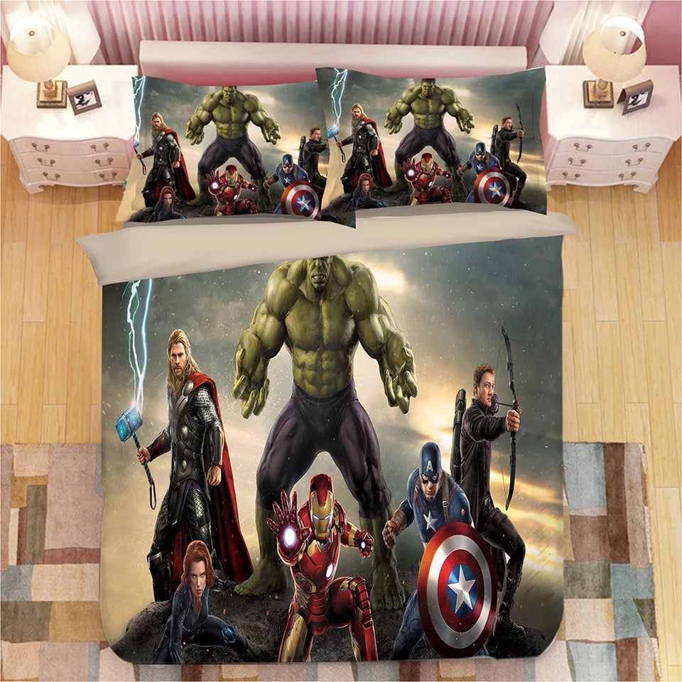 Avengers Infinity War #12 Duvet Cover Quilt Cover Pillowcase Bedding Set Bed Linen Home Decor