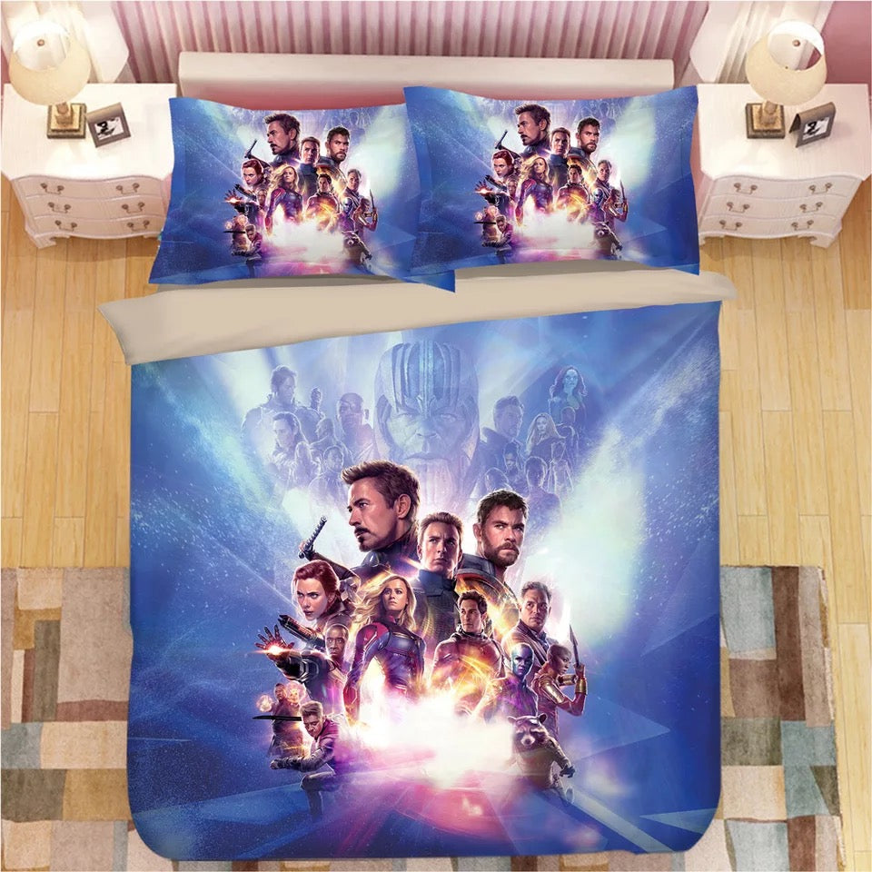 Avengers Infinity War #15 Duvet Cover Quilt Cover Pillowcase Bedding Set Bed Linen Home Decor