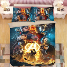 Load image into Gallery viewer, Avengers Infinity War #16 Duvet Cover Quilt Cover Pillowcase Bedding Set Bed Linen Home Decor