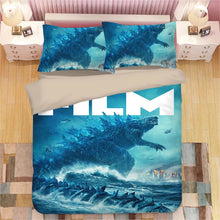 Load image into Gallery viewer, Godzilla #6 Duvet Cover Quilt Cover Pillowcase Bedding Set Bed Linen Home Decor
