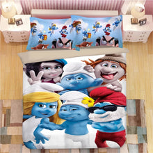 Load image into Gallery viewer, The Smurfs Smurfette #7 Duvet Cover Quilt Cover Pillowcase Bedding Set Bed Linen Home Decor
