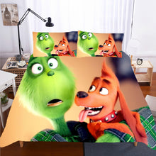 Load image into Gallery viewer, How the Grinch Stole Christmas #7 Duvet Cover Quilt Cover Pillowcase Bedding Set Bed Linen Home Decor