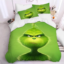 Load image into Gallery viewer, How the Grinch Stole Christmas #8 Duvet Cover Quilt Cover Pillowcase Bedding Set Bed Linen Home Decor