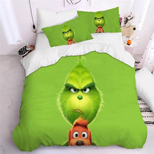 Load image into Gallery viewer, How the Grinch Stole Christmas #10 Duvet Cover Quilt Cover Pillowcase Bedding Set Bed Linen Home Decor