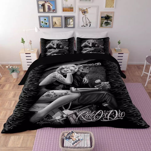 Marilyn Monroe #2 Duvet Cover Quilt Cover Pillowcase Bedding Set Bed Linen Home Decor