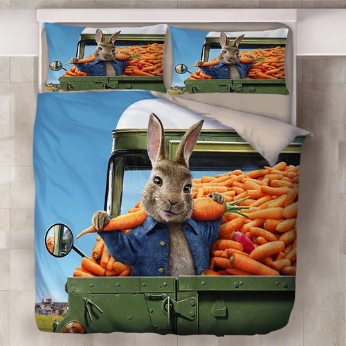 Peter Rabbit #2 Duvet Cover Quilt Cover Pillowcase Bedding Set Bed Linen Home Decor