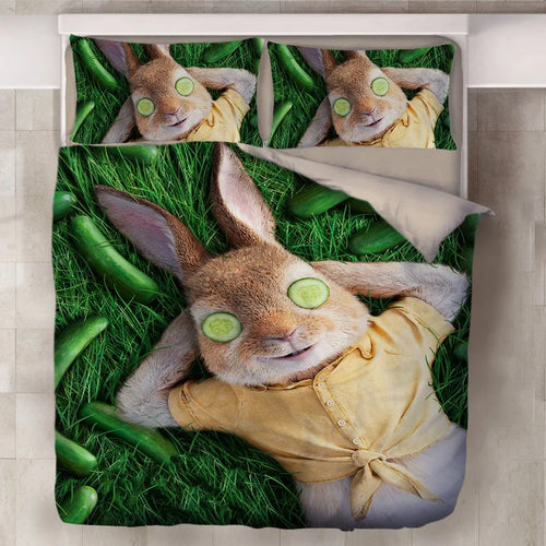 Peter Rabbit #6 Duvet Cover Quilt Cover Pillowcase Bedding Set Bed Linen Home Decor