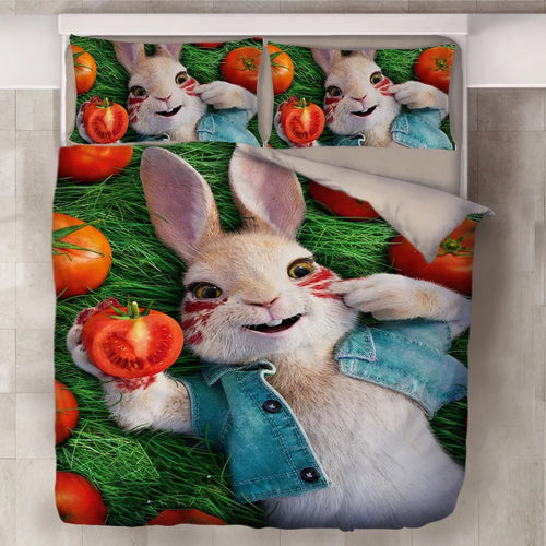 Peter Rabbit #7 Duvet Cover Quilt Cover Pillowcase Bedding Set Bed Linen Home Decor