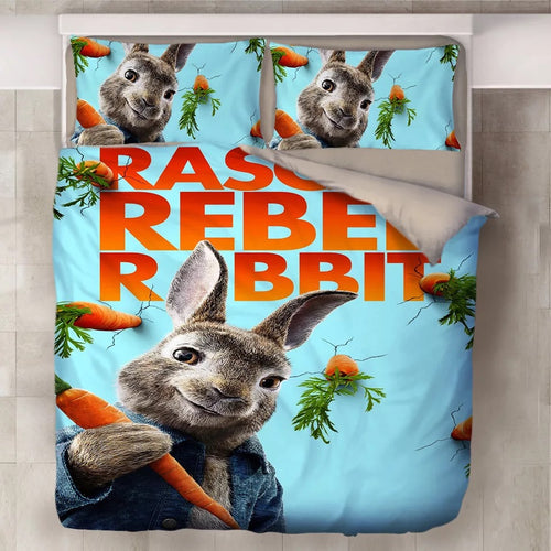 Peter Rabbit #9 Duvet Cover Quilt Cover Pillowcase Bedding Set Bed Linen Home Decor