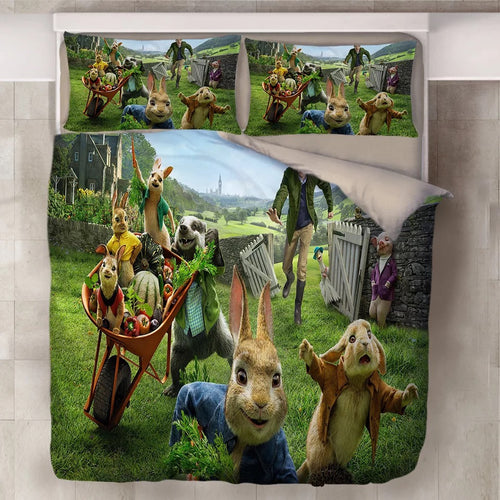 Peter Rabbit #10 Duvet Cover Quilt Cover Pillowcase Bedding Set Bed Linen Home Decor