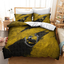 Load image into Gallery viewer, Harry Potter Hufflepuff #23 Duvet Cover Quilt Cover Pillowcase Bedding Set Bed Linen Home Decor