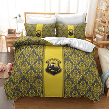 Load image into Gallery viewer, Harry Potter Hufflepuff #24 Duvet Cover Quilt Cover Pillowcase Bedding Set Bed Linen Home Decor