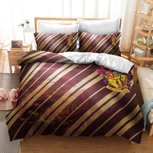 Load image into Gallery viewer, Harry Potter Gryffindor #22 Duvet Cover Quilt Cover Pillowcase Bedding Set Bed Linen Home Decor