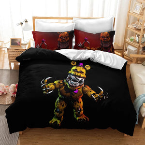 Five Nights at Freddy's #1 Duvet Cover Quilt Cover Pillowcase Bedding Set Bed Linen Home Decor