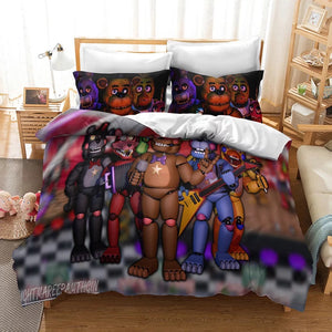 Five Nights at Freddy's #13 Duvet Cover Quilt Cover Pillowcase Bedding Set Bed Linen Home Decor