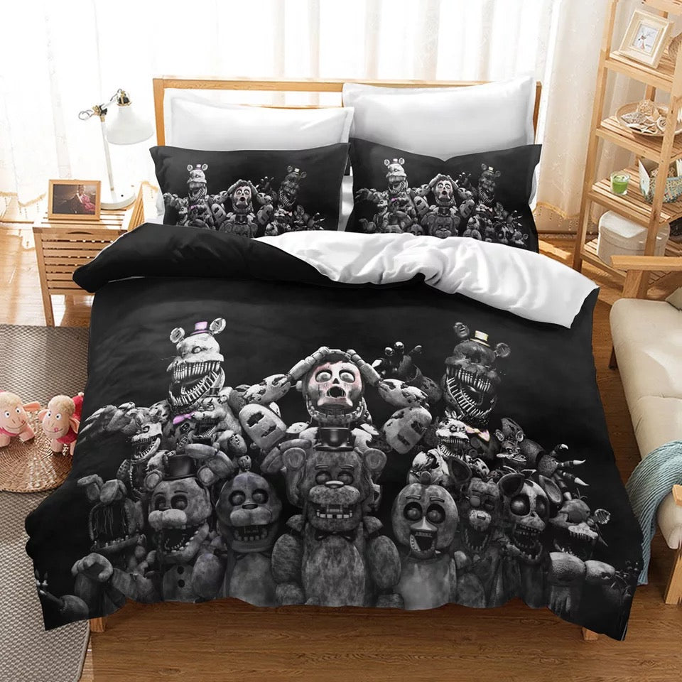 Five Nights at Freddy's #16 Duvet Cover Quilt Cover Pillowcase Bedding Set Bed Linen Home Decor