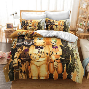 Five Nights at Freddy's #17 Duvet Cover Quilt Cover Pillowcase Bedding Set Bed Linen Home Decor