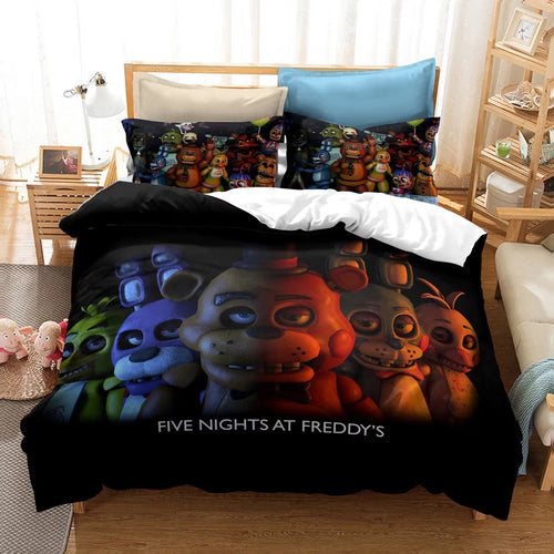 Five Nights at Freddy's #19 Duvet Cover Quilt Cover Pillowcase Bedding Set Bed Linen Home Decor