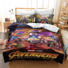Load image into Gallery viewer, Lego Avengers Infinity War #14 Duvet Cover Quilt Cover Pillowcase Bedding Set Bed Linen Home Decor