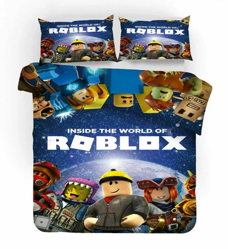 Roblox Team #40 Duvet Cover Quilt Cover Pillowcase Bedding Set Bed Linen Home Decor