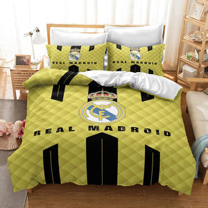Real Madrid Football Club #6 Duvet Cover Quilt Cover Pillowcase Bedding Set Bed Linen Home Decor