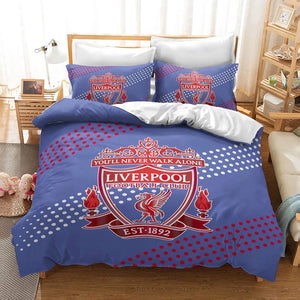 Liverpool Football Club #7 Duvet Cover Quilt Cover Pillowcase Bedding Set Bed Linen Home Decor