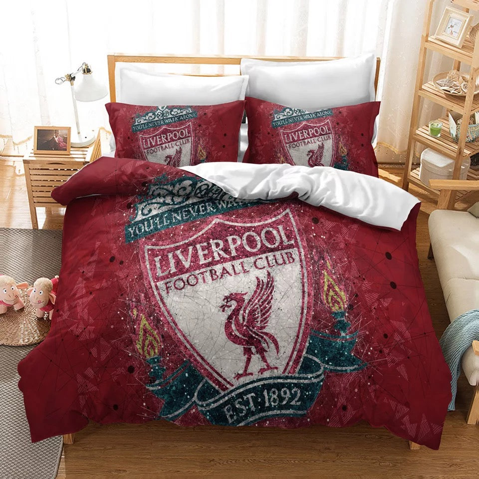 Liverpool Football Club #8 Duvet Cover Quilt Cover Pillowcase Bedding Set Bed Linen Home Decor